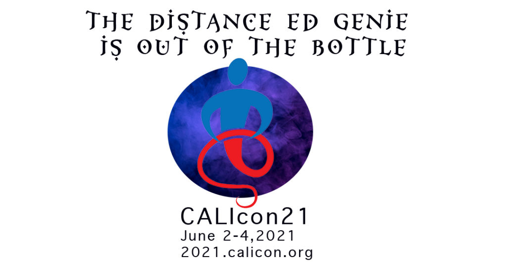 CALIcon21 Conference Logo